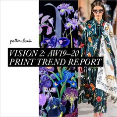 Welcome to Patternbank's second print and pattern trend report for Autumn/Winter We aim to innovate and inspire you and your team so you are ahead of th Fashion Forecasting, Fashion Mode, Fashion Stores, Fashion Online, Winter Trends, Colorful Fashion, Color Trends, Fashion Prints, Pattern Fashion