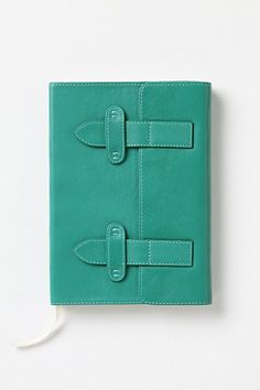 Because I need a new journal, and the color!