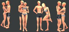 Something Wicked Sims - Somewhere in Time Poses Let's say this is a late Valentine's gift! Just a quick batch of couple poses I whipped up. May have some clipping issues with clothing/body types,. Sims 4 Couple Poses, Couple Posing, Sims 4 Mm Cc, My Sims, Sims 4 Family, Sims 4 Black Hair, The Sims 4 Packs, Sims 4 Blog, Sims 4 Dresses