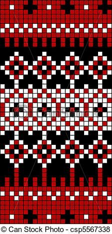 Seamless Knit Pattern Block 1 Stock Vector - Illustration of knit, backdrop: 18289395 Fair Isle Knitting Patterns, Bead Loom Patterns, Knitting Charts, Loom Knitting, Knitting Stitches, Knitting Designs, Knit Patterns, Beading Patterns, Stitch Patterns