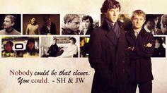 BBC Sherlock Wallpaper - John/Sherlock 1366x768 by Sidhrat.deviantart.com