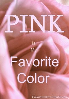 P i n k / Pink! / my Fav color is pink! Pretty In Pink, Tout Rose, Rose Fuchsia, Pink And Green, Purple, Pink White, Pink Quotes, Pink Power, Everything Pink