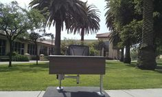 Our M60 was California dreaming at Santa Clara University School of Law this week!