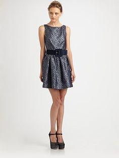 Alice + Olivia - Lillyanne Cutout Dress
