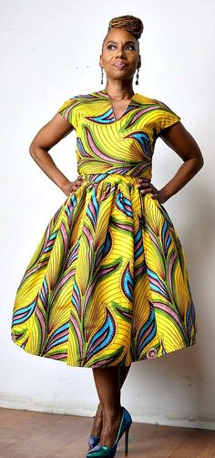 M A J A N I Belle Skirt Made from Dutch African Wax Fabric - M A J I Collection. Ankara | Dutch wax | Kente | Kitenge | Dashiki | African print dress | African fashion | African women dresses | African prints | Nigerian style | Ghanaian fashion | Senegal fashion | Kenya fashion | Nigerian fashion | Ankara crop top (affiliate)