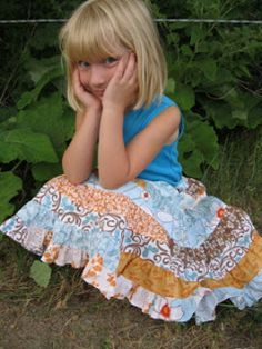 Blogging the Sweet Things in Life: The Jelly Roll Twirl Skirt