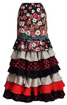 Spanish Fashion, Looks Street Style, Silk Ribbon Embroidery, Clothing Hacks, Cute Skirts, Skirt Pants, Fashion Show, Vintage Fashion, My Style