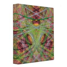 An unusual and strange colorful pattern with many thin lines with many different colors. You can also Customized it to get a more personally looks. 3 Ring Binders, Custom Binders, Color Patterns, Different Colors, Abstract, Unique, Rings, Colorful, Stylish