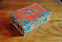 7-20-4 RG Sullivan Cigar Box 1940s Sullivan by CobblestonesVintage