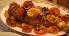 Receitas - Peixe assado no forno - Petiscos.com