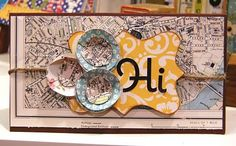 Hi card by Charity Hassel