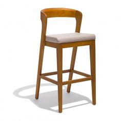 Rivera Bar Stool Modern Stools, Office Furniture, Bar Stools, Upholstery, Sweet Home, Mid Century, Wood, Benches, Danish