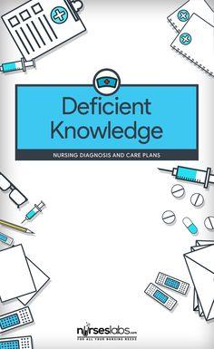 nursing care plan tutorial youtube nursing pinterest deficient knowledge nursing diagnosis care plan nurseslabs fandeluxe Images