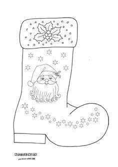 Mikulášska čižma Little Christmas, Advent, Quilts, Color, Art For Kids, Colour, Comforters, Patch Quilt, Kilts