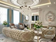 Luxury Decor, Luxury Interior Design, Classic Interior, Drawing Rooms,  House Architecture, 2017 Design, Art Deco Interiors, Luxury Living Rooms,  Guest Room
