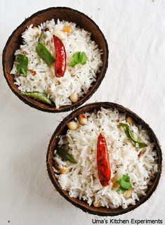 While we're all about the tastiness of a dish, presentation is just as important. Try this 15-minute  #recipe for a #Basmati Rice Coconut dish that has a gourmet flair