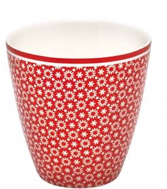 Lina Red Latte Cup (Greengate of Copenhagen) - from drift LIVING