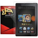 Klear Cut [3 Pack] - Screen Protector (2014) for Amazon Kindle Fire HD 7 - Lifetime Replacement Warranty - Anti-Bubble & Anti-Fingerprint High Definition (HD) Clear Premium PET Cover - Retail Packaging Reviews - http://www.knockoffrate.com/cell-phones-accessories/klear-cut-3-pack-screen-protector-2014-for-amazon-kindle-fire-hd-7-lifetime-replacement-warranty-anti-bubble-anti-fingerprint-high-definition-hd-clear-premium-pet-cover-retail-pack-5/