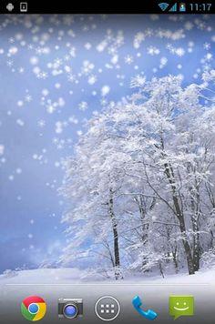 Iarna zapada live Wallpaper– captură de ecran