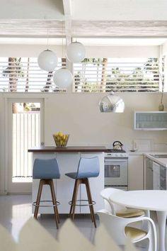 Cucina piccola con isola - Cucina bianca classica con isola ...