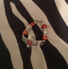 Texas A Cross Bracelet by sassygirlsx3 on Etsy, $16.00