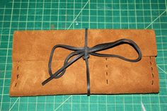 leather pouch tutorial