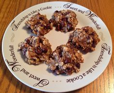 Points In My Life: Low-Point Banana Oatmeal Cookies