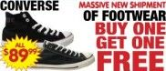 FREE Pair of Shoes When You Buy 1 @ Paul's Warehouse!