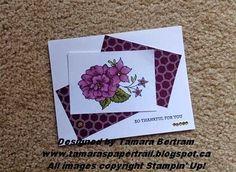 Tamara's Paper Trail: Blendabilities - I Like You - Take II