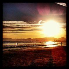 Sunset at Salou (Spain)