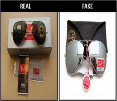 How to Spot a Fake RayBan Aviator #stepbystep