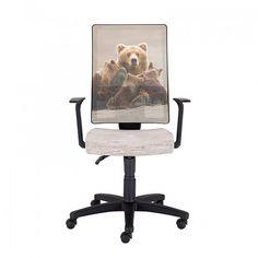 Работен стол NATURA Orso - Бял