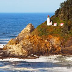 Check out this slideshow Heceta Head Lighthouse in this list Lighthouse Love: 24 Views Worth Climbing the Stairs