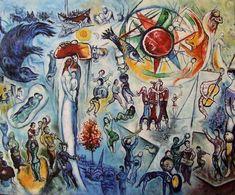 Marc Chagall La Vie   1964
