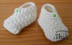 Chaussons point étoile au crochet Faire Du Crochet, Modèles De Crochet,  Tricot Et Crochet 9a020ca8a66