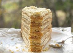 Recept Karamelový dort - 1000 vrstev Banana Layer Cake Recipe, Layer Cake Recipes, Kolaci I Torte, Oreo Cheesecake, Pound Cake, Vanilla Cake, Nutella, Caramel, Bakery