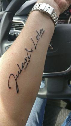 I Love Maman Iron on Maman Tattoo Patch-Flèche par Coeur