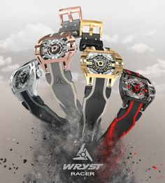 Wryst Racer Automatic Watches  #sportswatches #watchtime #watchnerd