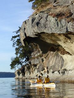 Gulf islands sea kayaking just north of Vancouver