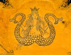 A Swiss mermaid, a Melusine.