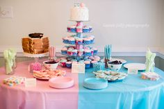 Gender Reveal Party #laurenjollyphotography