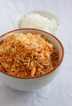 Tutorial How to Make Toasted Coconut #coconut