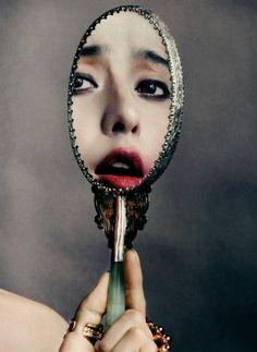 Vogue China - Diva Fan-tasy  Fan Bing Bing  David Slijper (Photographer)  Lisa Houghton (Makeup Artist)