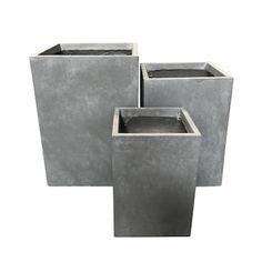 Concrete Planters, Hangers & Stands | Shop Online at Overstock