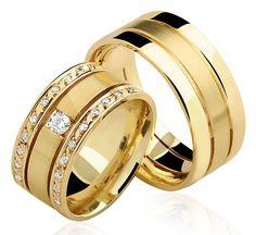 a313eb1cac8 Alianças Trieto ♥ Casamento e Noivado em Ouro 18K - Reisman Aliança  Quadrada