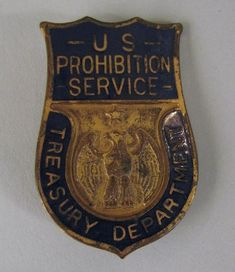For National Police Week, we shared a few law enforcement-related artifacts in our collection. This is a Prohibition agent's badge from the 1920s.