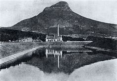 "The ""Graaff"" Electric Lighting Works at Molteno Reservoir in Cape Town 1907."