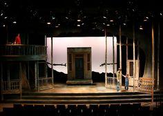 To Kill A Mockingbird. Steppenwolf Theatre Company. Set design by Collette Pollard.