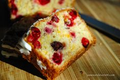 Cheddar cheese and cranberries may seem like an unusual combination for a quick bread, but they actually could not be more perfect together. This easy to make bread is simply amazing. Paring cranberries, orange, almond, and spices with Cranberry Bread, Cranberry Cheese, Cheese Bread, Cheddar Cheese, Cake Supply Store, Peach Scones, My Recipes, Favorite Recipes, Fall Recipes