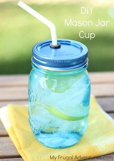 Do you have shelves of mason jars? I do! I love them and use them for so many things from hanging lanterns to party decoration to sweet little gifts to food storage. They are inexpensive, fit per…